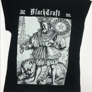 Black craft vintage cult tee